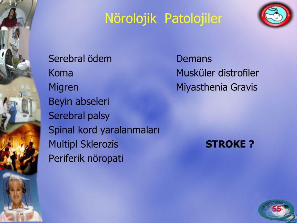 Nörolojik Patolojiler