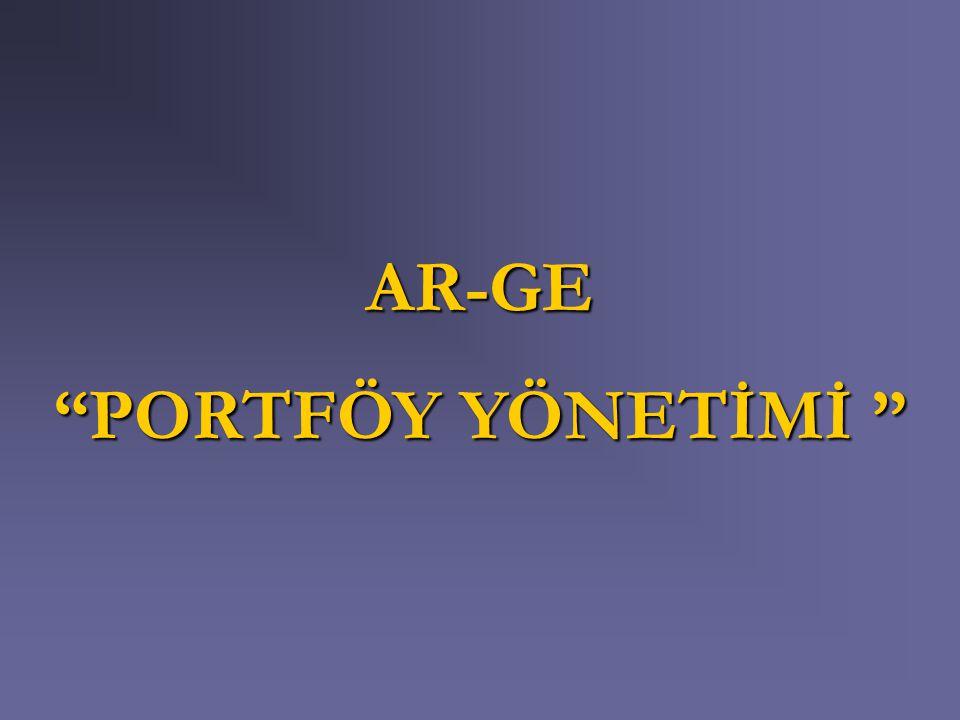 AR-GE PORTFÖY YÖNETİMİ