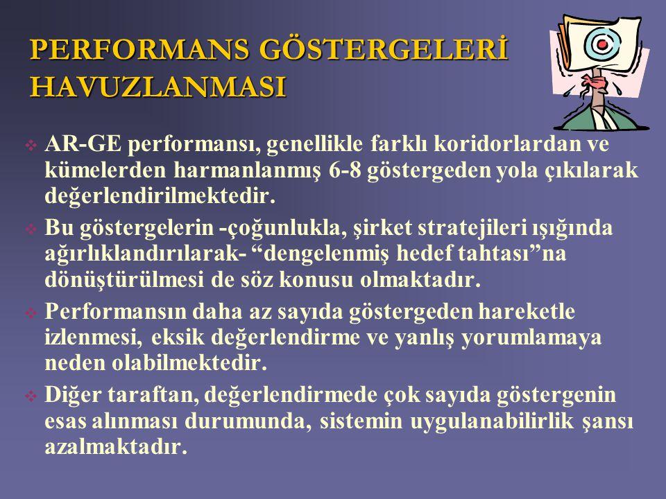 PERFORMANS GÖSTERGELERİ HAVUZLANMASI