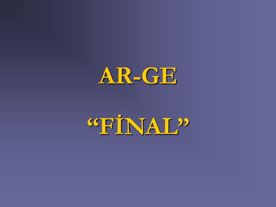 AR-GE FİNAL