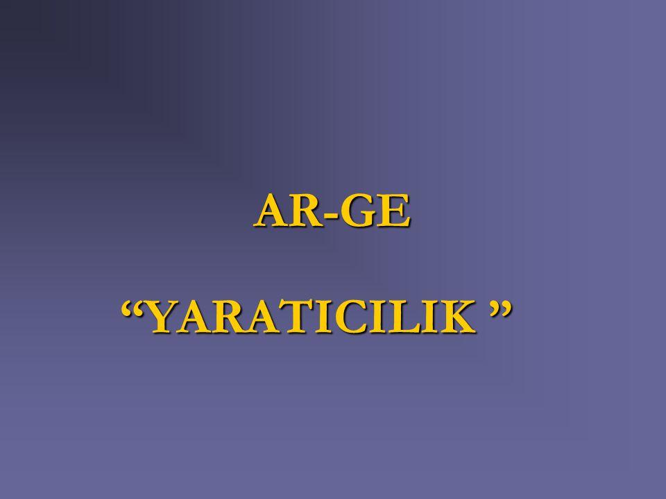 AR-GE YARATICILIK