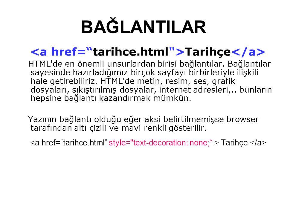 <a href= tarihce.html >Tarihçe</a>