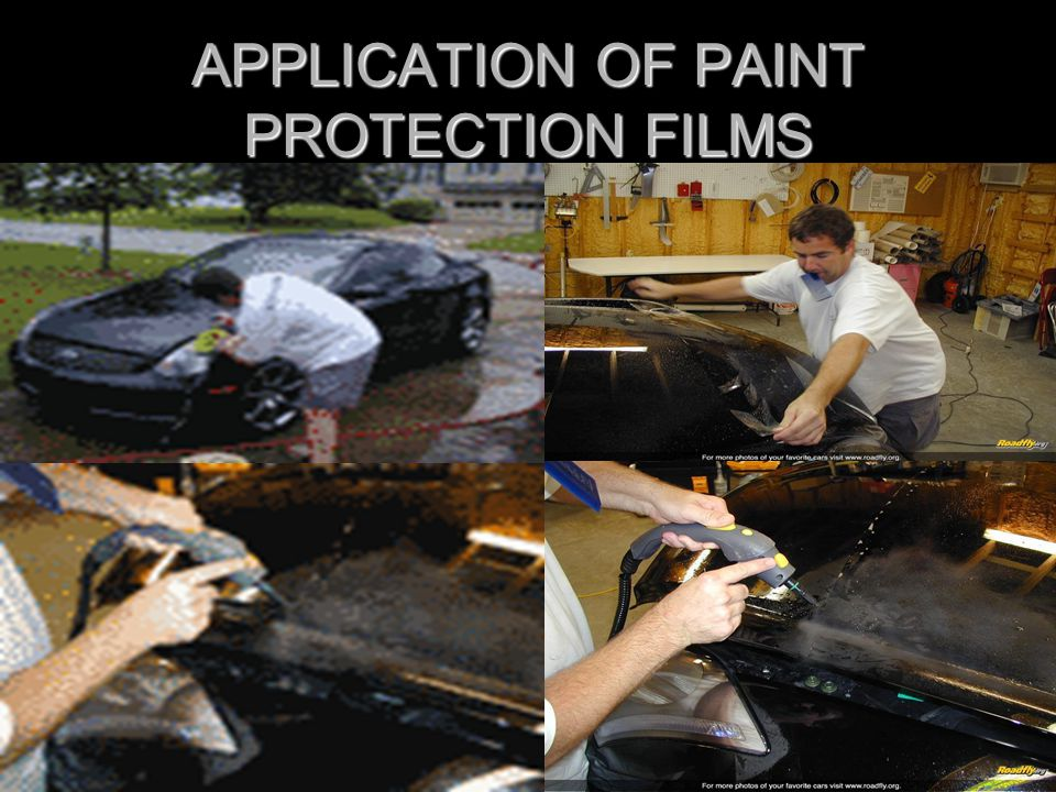 APPLICATION OF PAINT PROTECTION FILMS