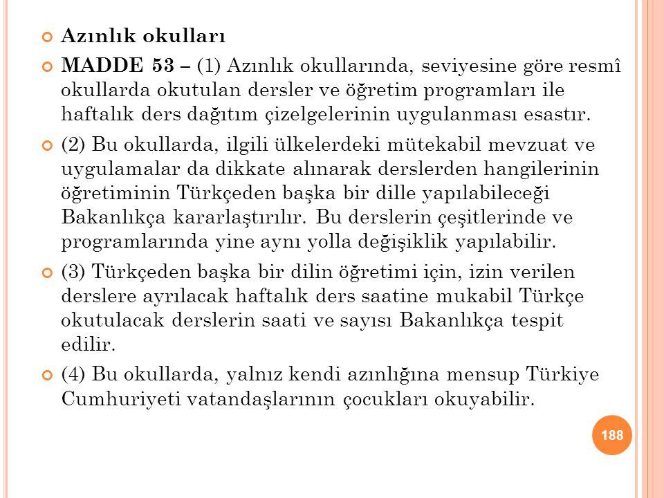 03.04.2017 Azınlık okulları.