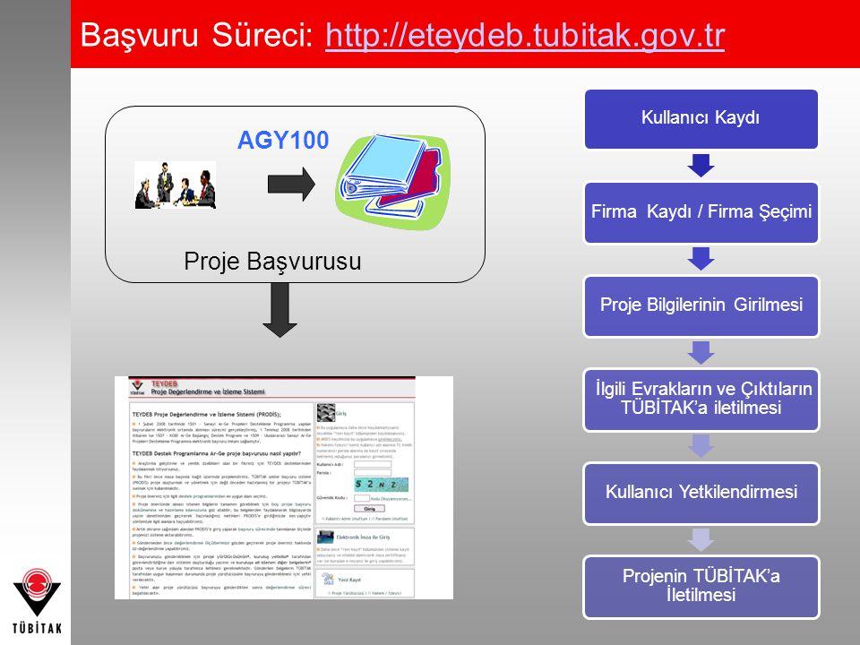 Başvuru Süreci: http://eteydeb.tubitak.gov.tr