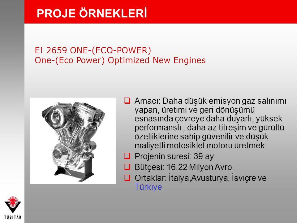 PROJE ÖRNEKLERİ E! 2659 ONE-(ECO-POWER)