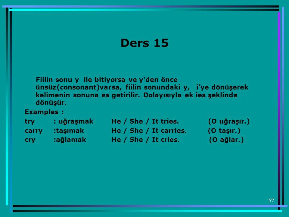 Ders 15