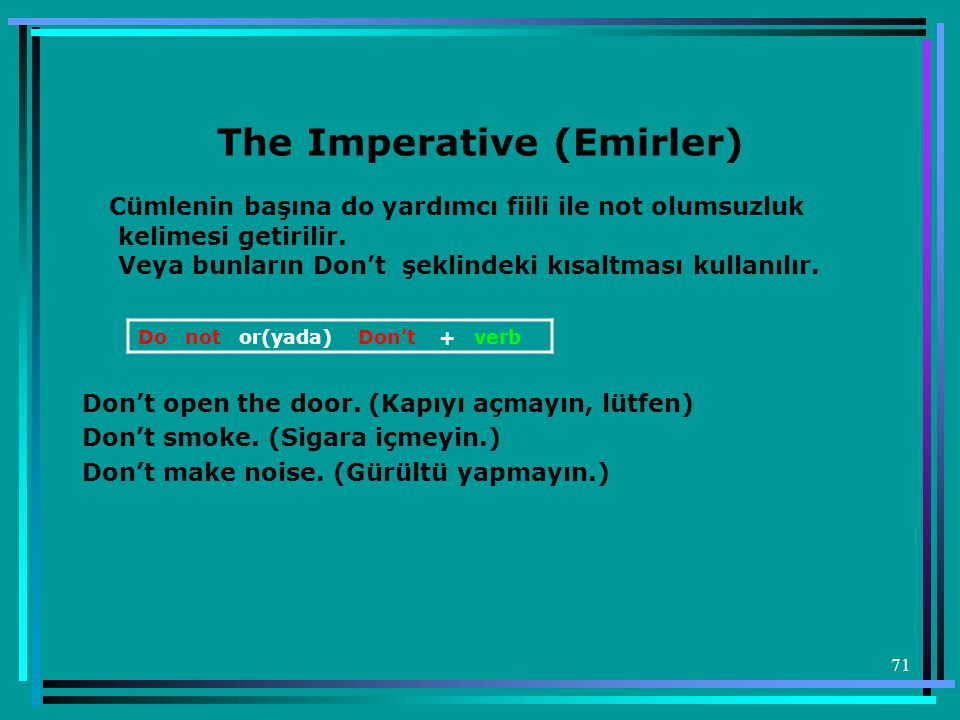 The Imperative (Emirler)