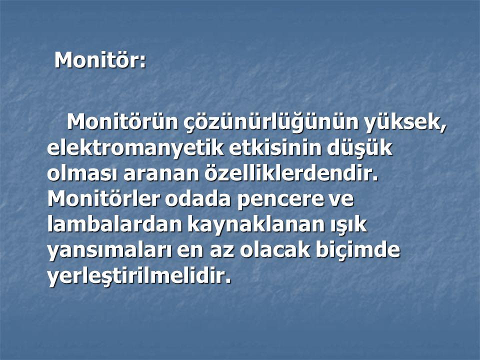 Monitör: