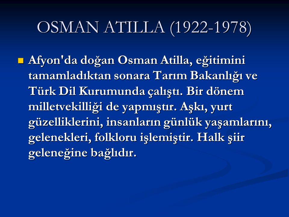 OSMAN ATILLA (1922-1978)