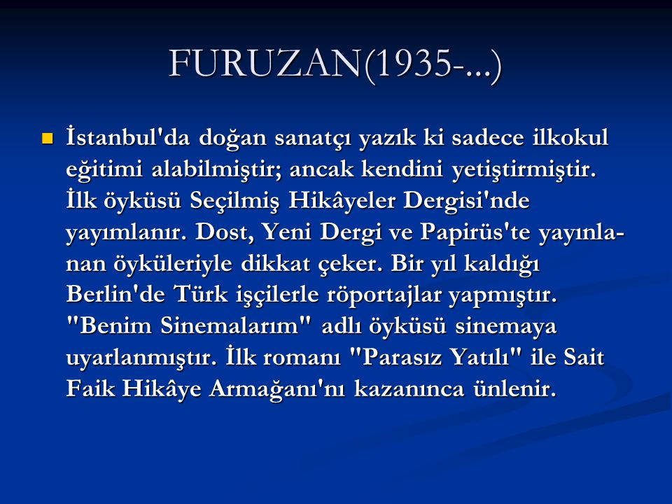 FURUZAN(1935-...)