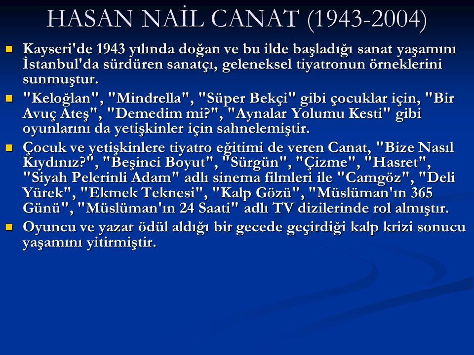 HASAN NAİL CANAT (1943-2004)