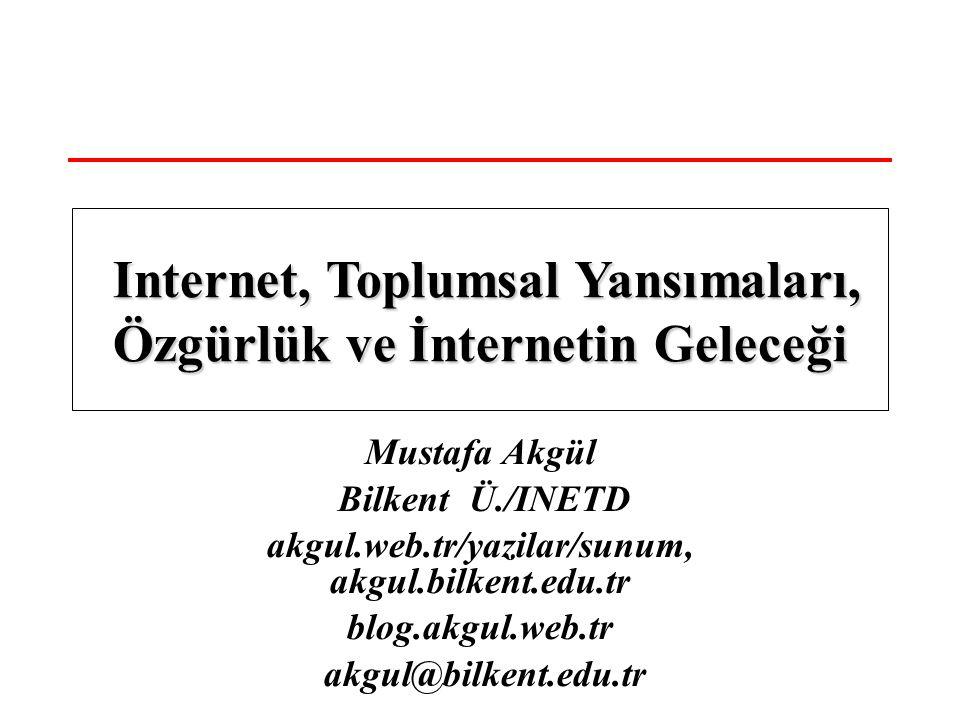 Internet, Toplumsal Yansımaları, Özgürlük ve İnternetin Geleceği