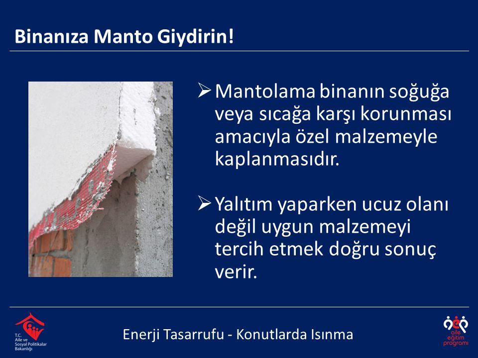 Binanıza Manto Giydirin!
