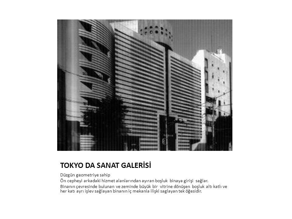 TOKYO DA SANAT GALERİSİ