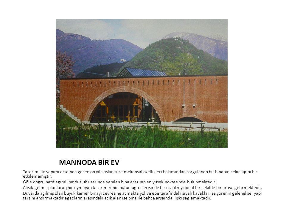MANNODA BİR EV