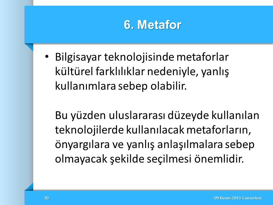 6. Metafor