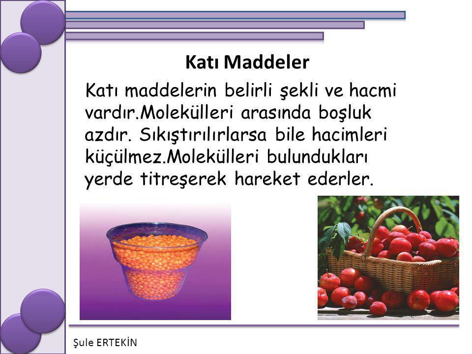 Katı Maddeler