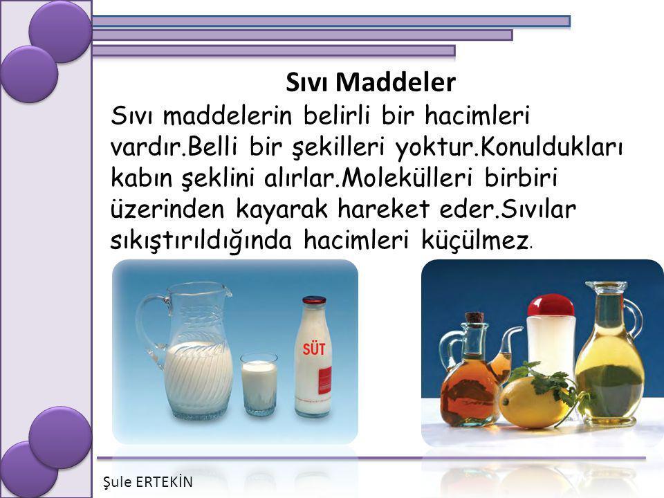 Sıvı Maddeler