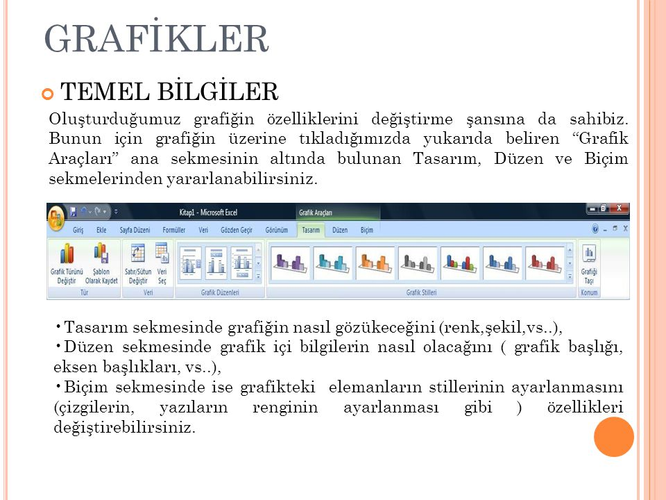 GRAFİKLER TEMEL BİLGİLER