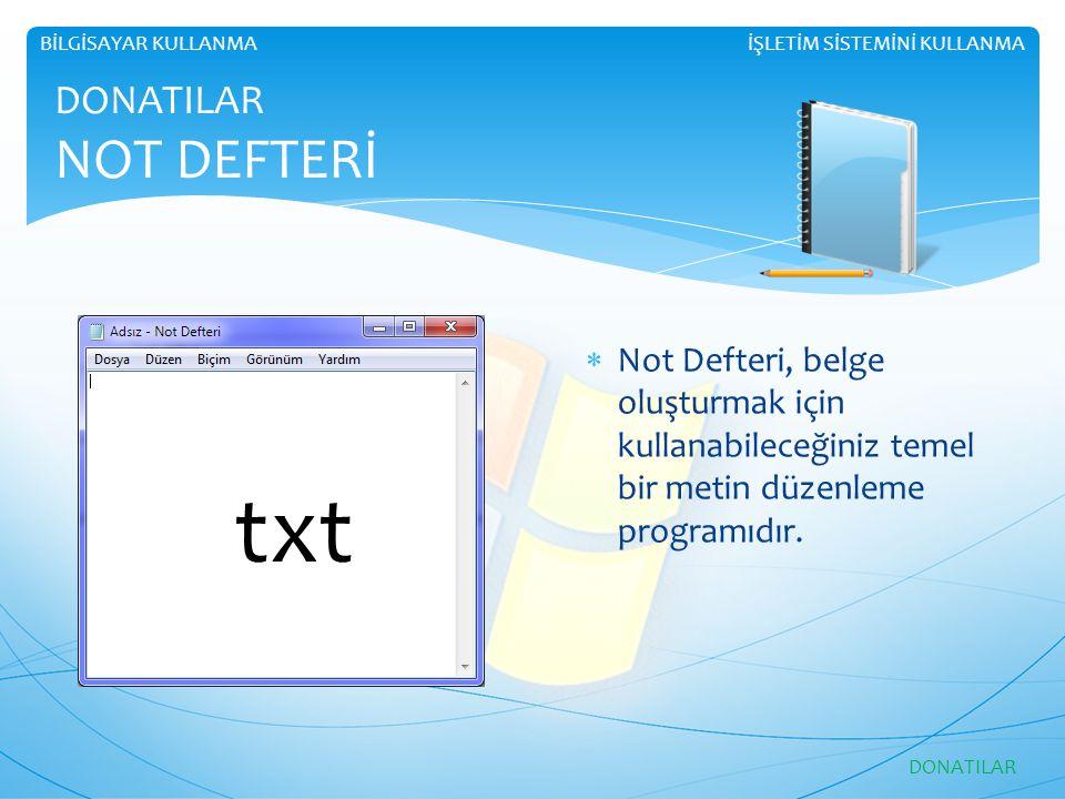 txt DONATILAR NOT DEFTERİ