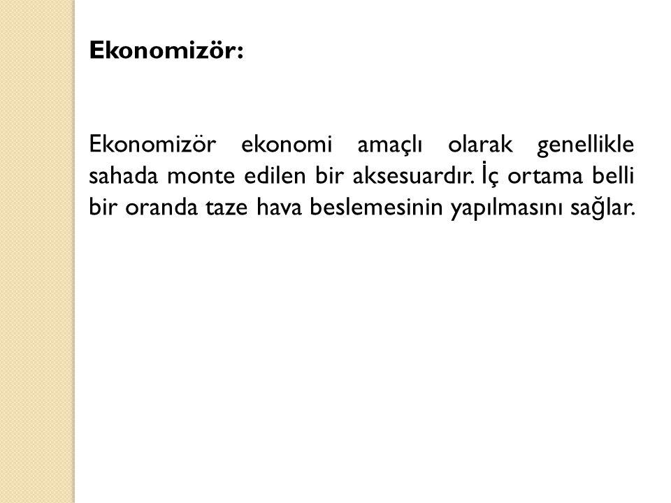 Ekonomizör: