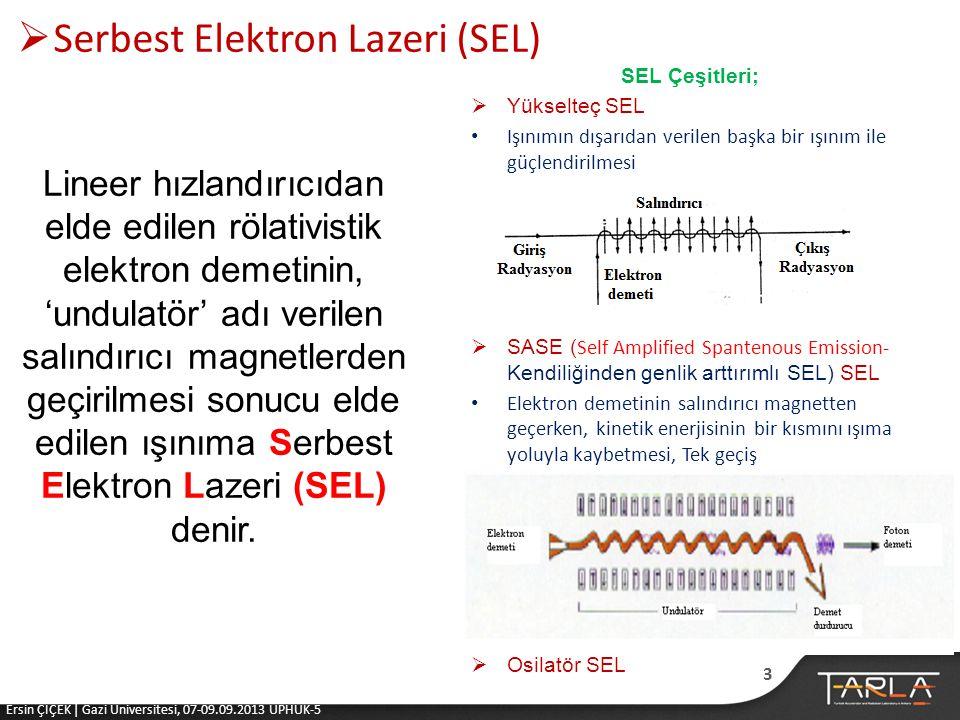 Serbest Elektron Lazeri (SEL)