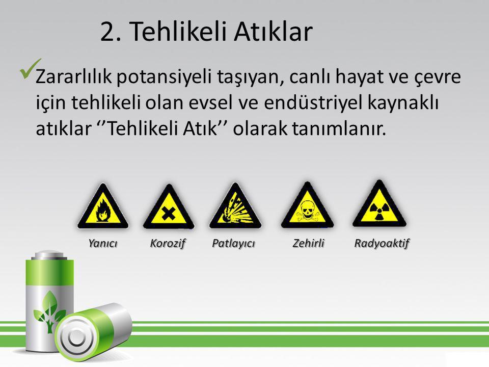 2. Tehlikeli Atıklar