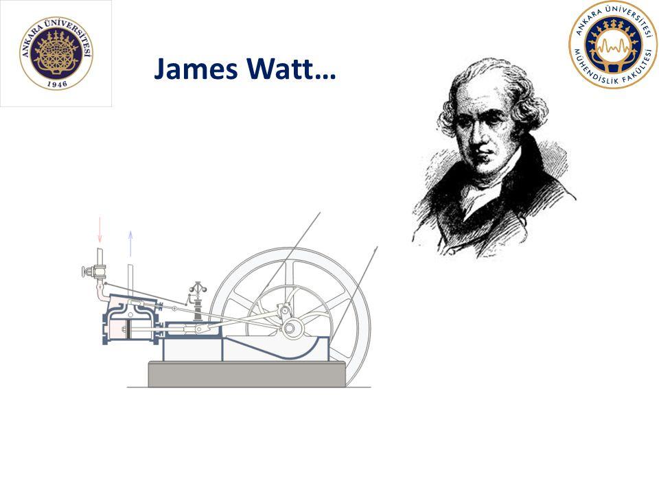 James Watt…