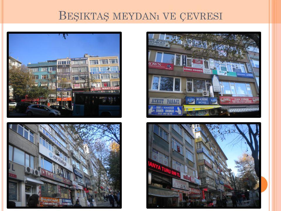 Beşiktaş meydanı ve çevresi