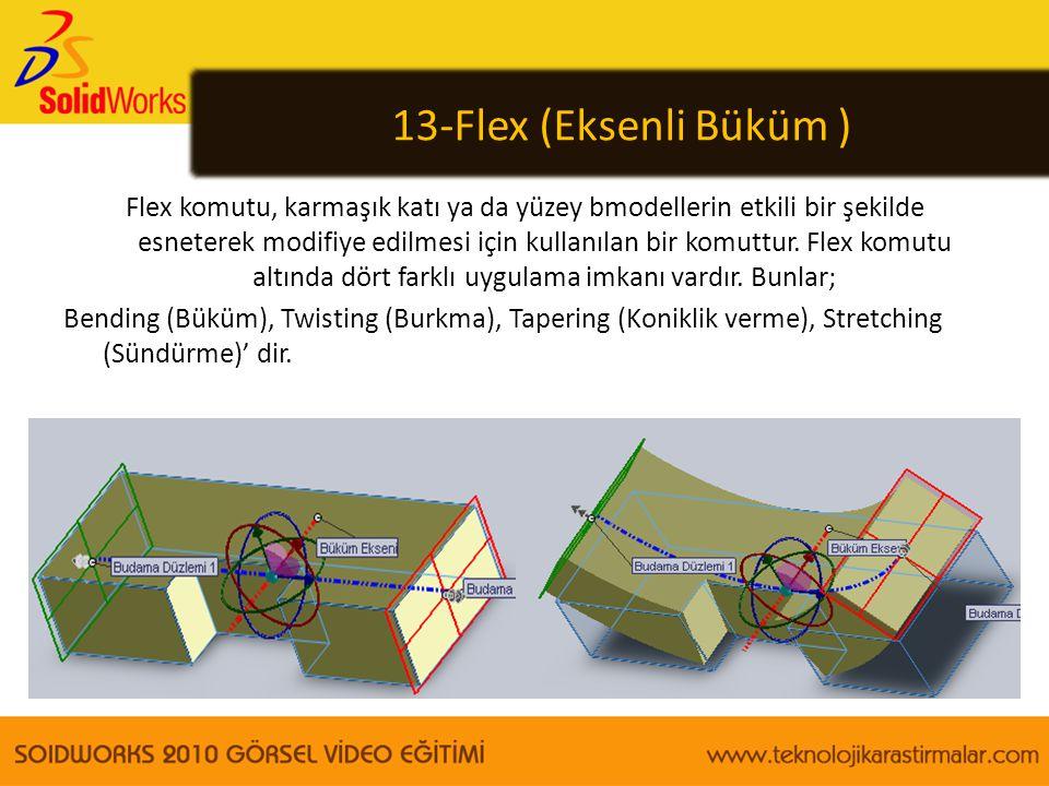 13-Flex (Eksenli Büküm )