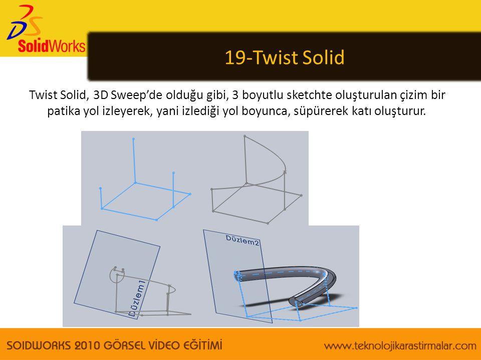 19-Twist Solid