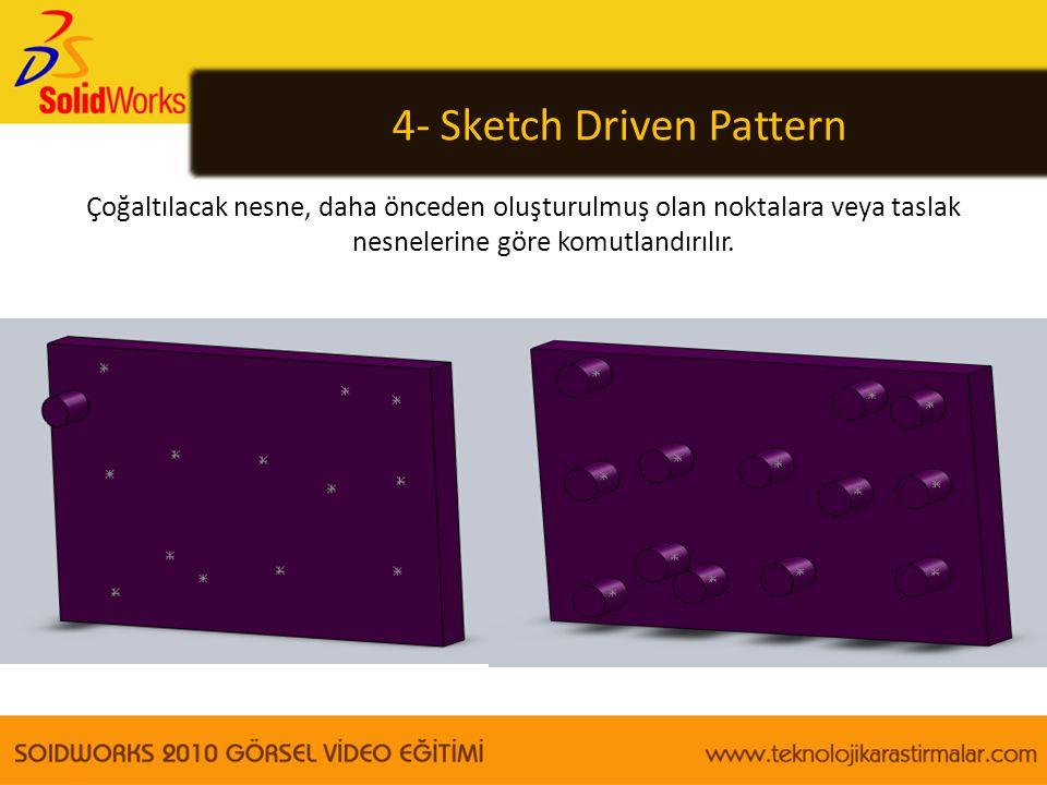 4- Sketch Driven Pattern