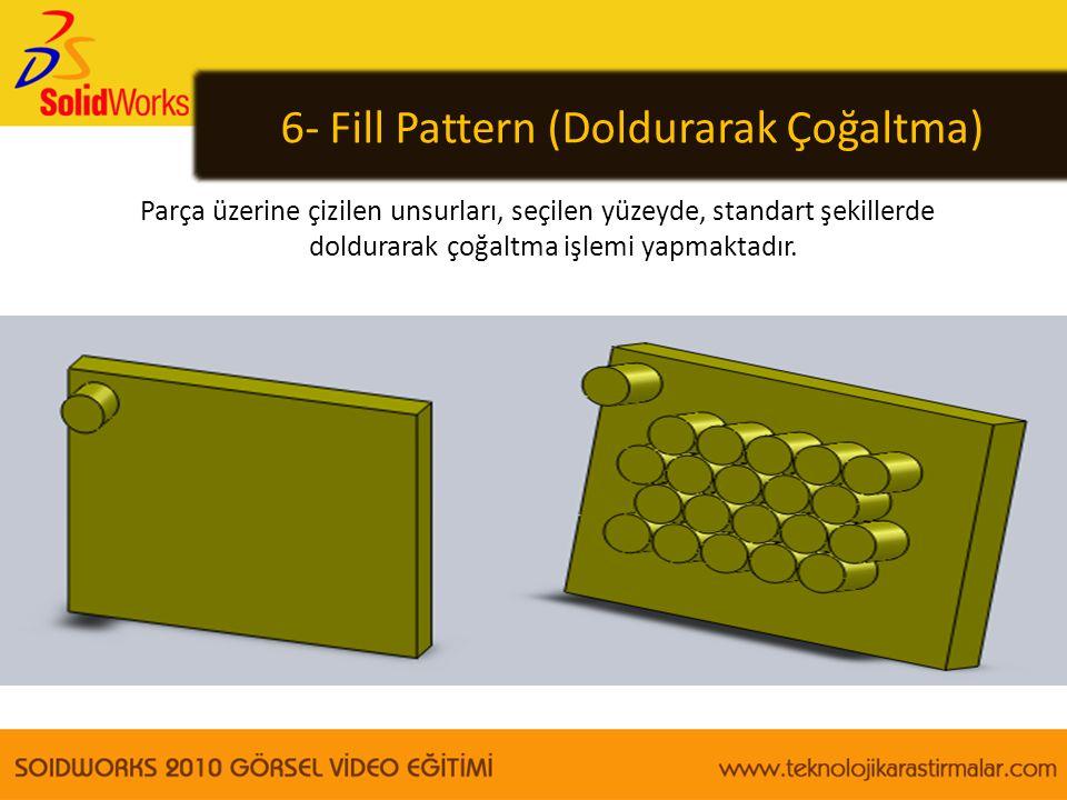 6- Fill Pattern (Doldurarak Çoğaltma)
