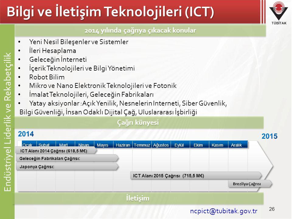 Bilgi ve İletişim Teknolojileri (ICT)