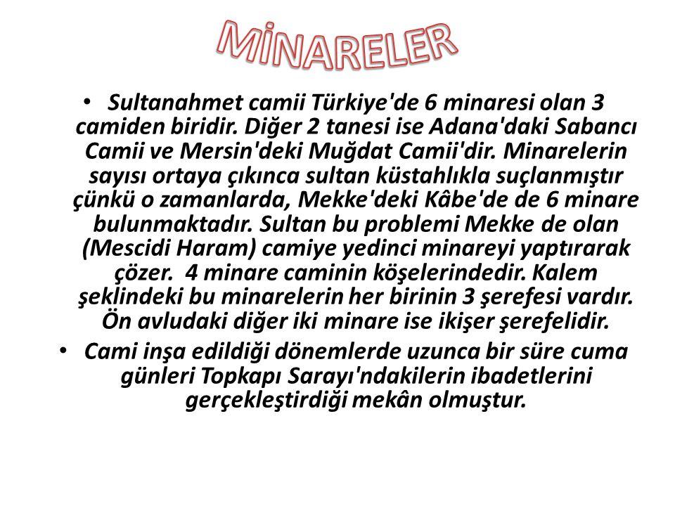 MİNARELER