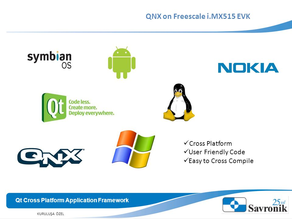 QNX on Freescale i.MX515 EVK