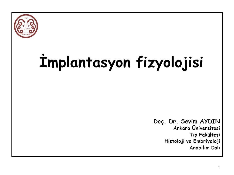 İmplantasyon fizyolojisi