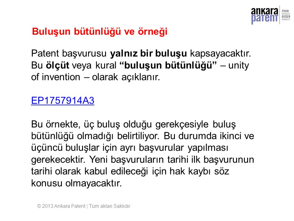© 2013 Ankara Patent | Tüm akları Saklıdır.