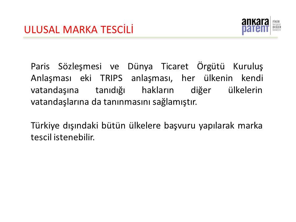 ULUSAL MARKA TESCİLİ