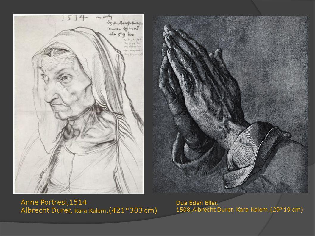 Albrecht Durer, Kara Kalem,(421*303 cm)