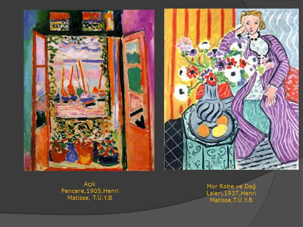 Açık Pencere,1905,Henri Matisse, T.Ü.Y.B
