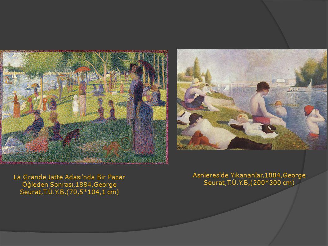 Asnieres de Yıkananlar,1884,George Seurat,T.Ü.Y.B,(200*300 cm)