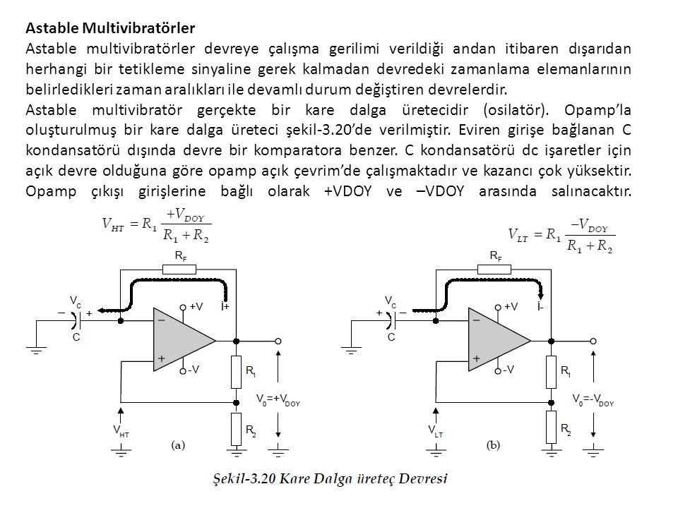 Astable Multivibratörler