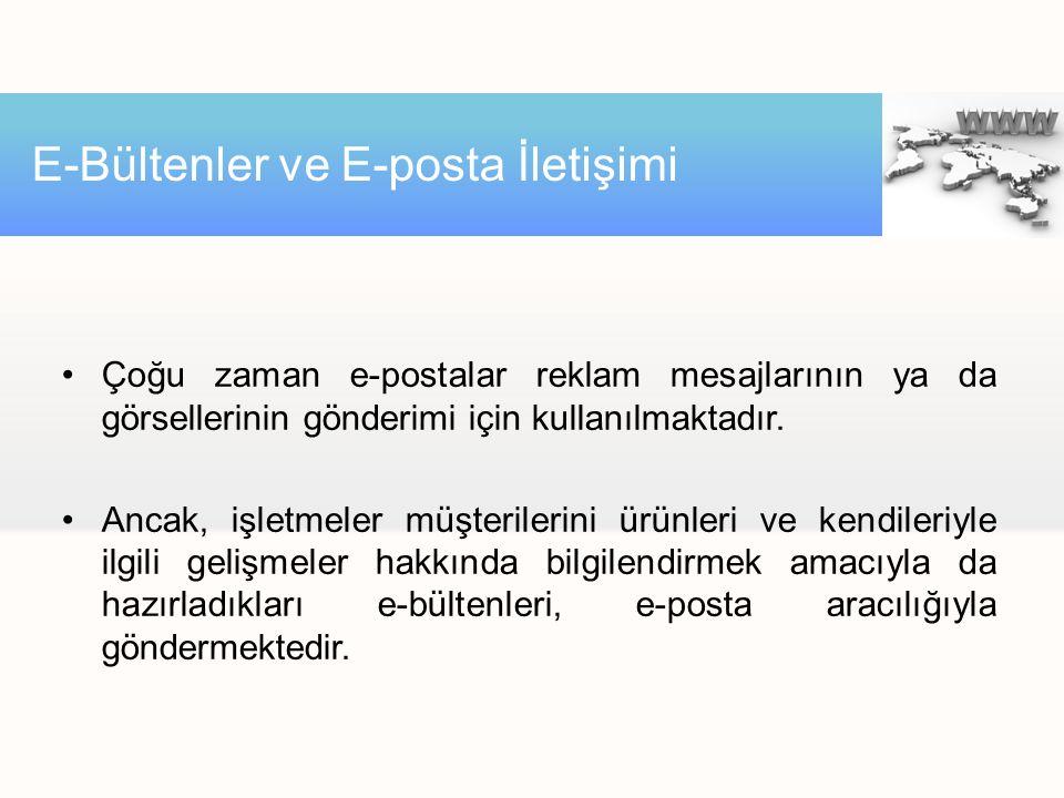 E-Bültenler ve E-posta İletişimi