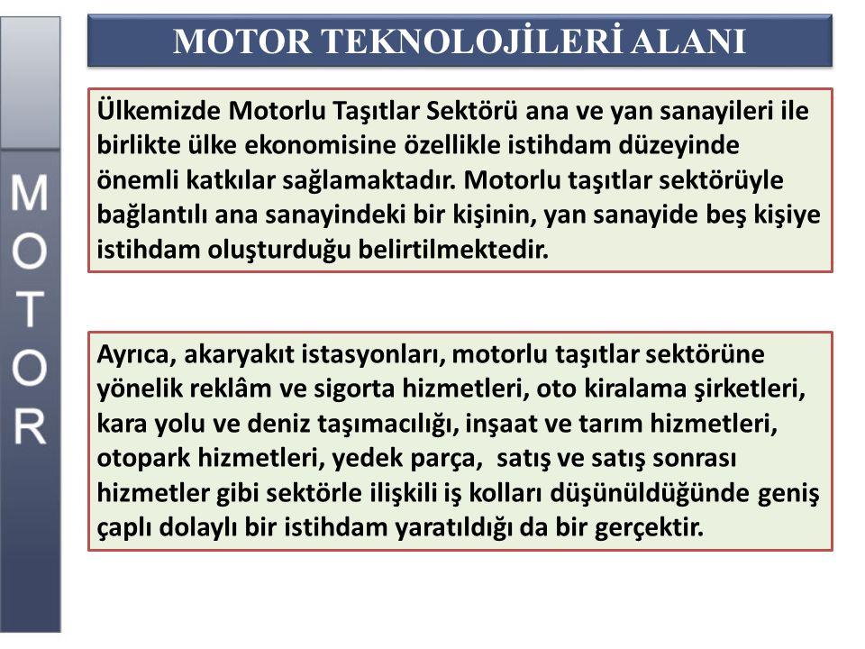 MOTOR TEKNOLOJİLERİ ALANI