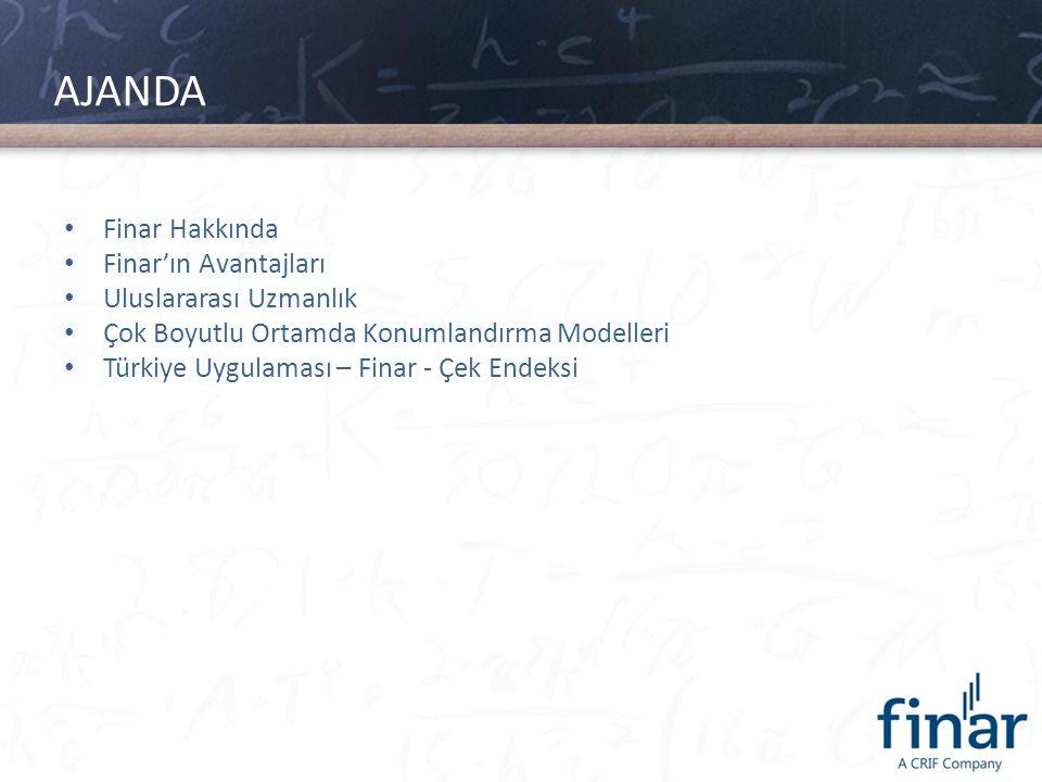 AJANDA Finar Hakkında Finar'ın Avantajları Uluslararası Uzmanlık