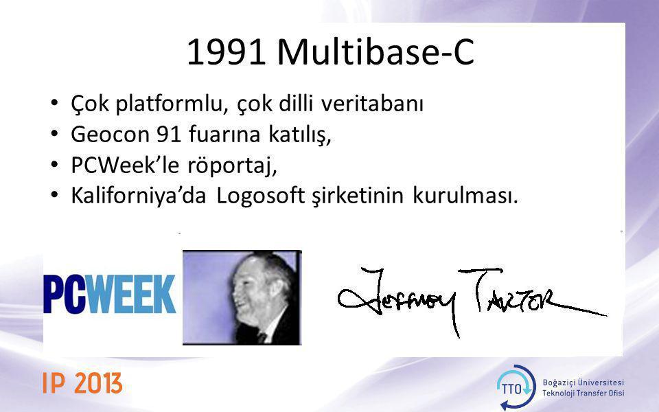 1991 Multibase-C Çok platformlu, çok dilli veritabanı
