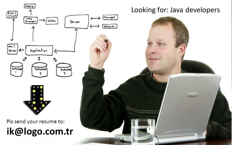 Looking for: Java developers