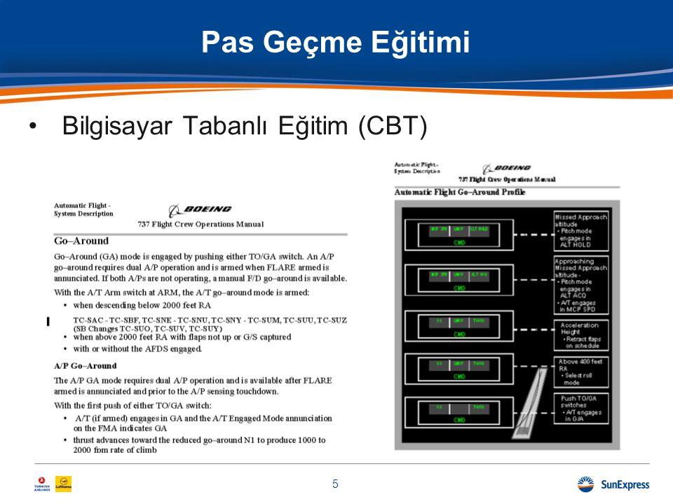 Pas Geçme Eğitimi Bilgisayar Tabanlı Eğitim (CBT)